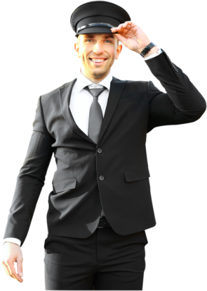man on a suit smiling