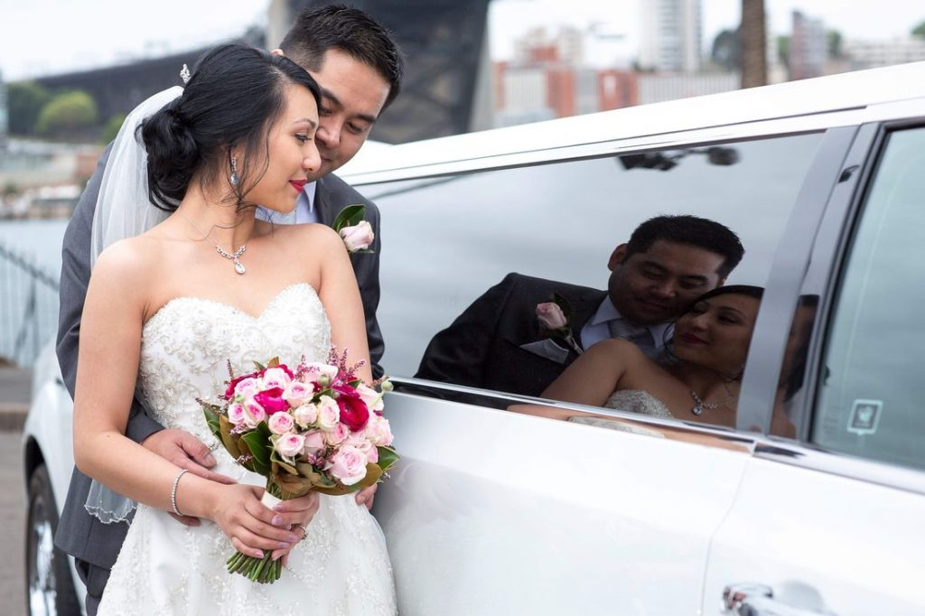Weston CT wedding limo service